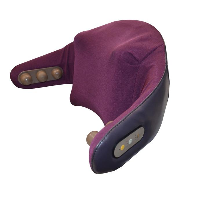 Масажор Rexton GJ-P01, за врат, рамене, плешки, кръст и талия, еко кожа, безшумен механизъм image