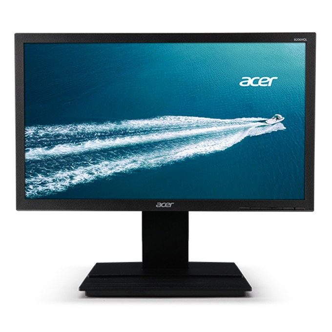 """Монитор Acer B206WQL, 19.5"""" (49.5 cm) IPS панел, WXGA+, 5ms, 100,000,000:1, DVI, VGA image"""