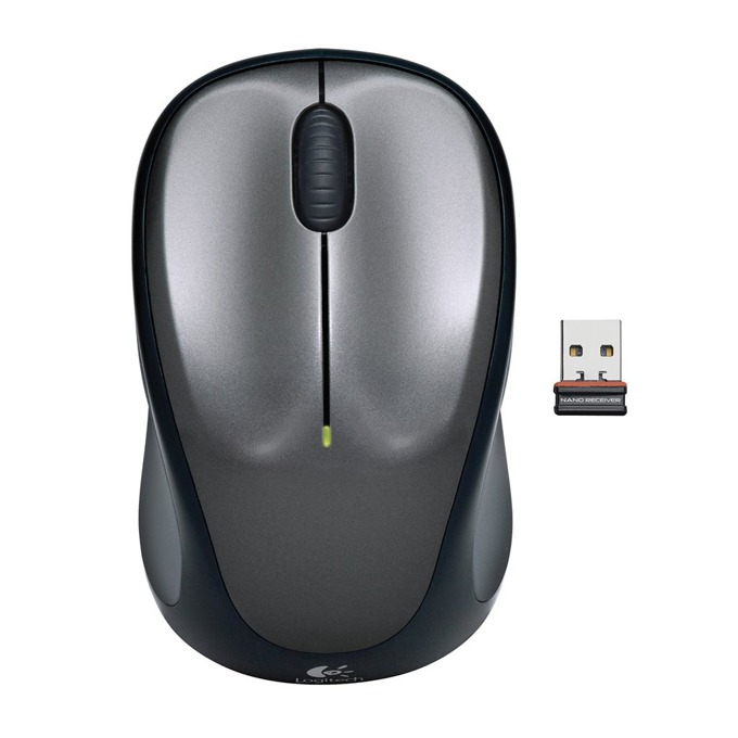 Мишка Logitech Wireless M235, безжична, USB, сива image