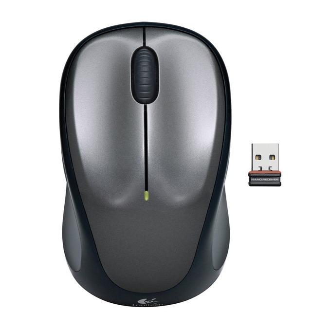 Мишка Logitech Wireless M235, безжична, USB, сива image
