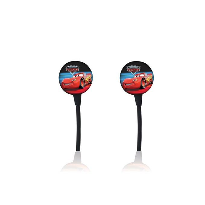 """Слушалки Disney Disney Earphone Cars (DSY-HP720), тип """"тапи"""", червени image"""
