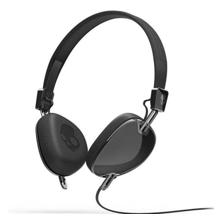 Cлушалки Skullcandy Black Navigator (черен), микрофон и контрол на звука image