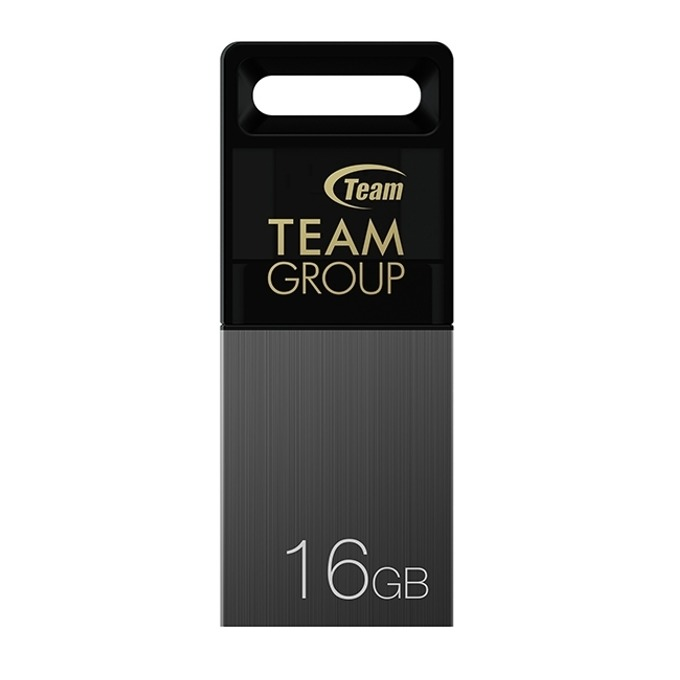 Памет 16GB USB Flash Drive, Team Group OTG M151, USB 2.0/Micro USB, сива image