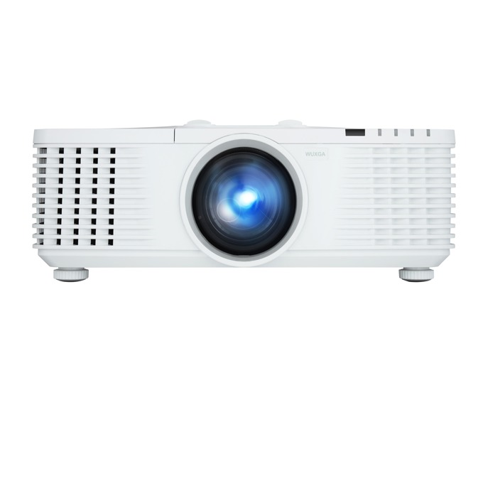 Проектор ViewSonic PRO9800WUL, DLP, WUXGA (1920x1200), 15000:1, 5500 lm, VGA, HDMI, DVI-D, RS232, S-Video, BNC, RCA, HDBaseT, LAN, бял image