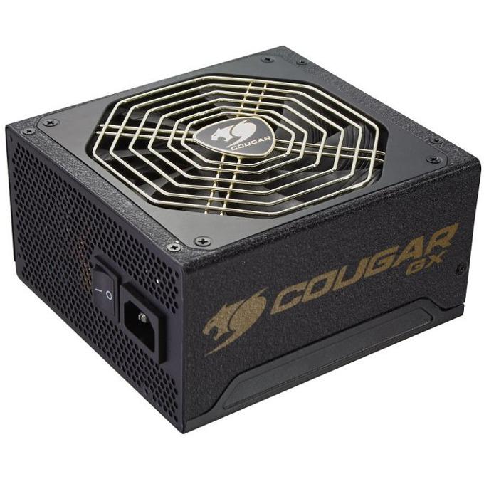 Захранване Cougar gaming CGR GX800, 800W, Active PFC, 80 Plus Gold, 140mm вентилатор image