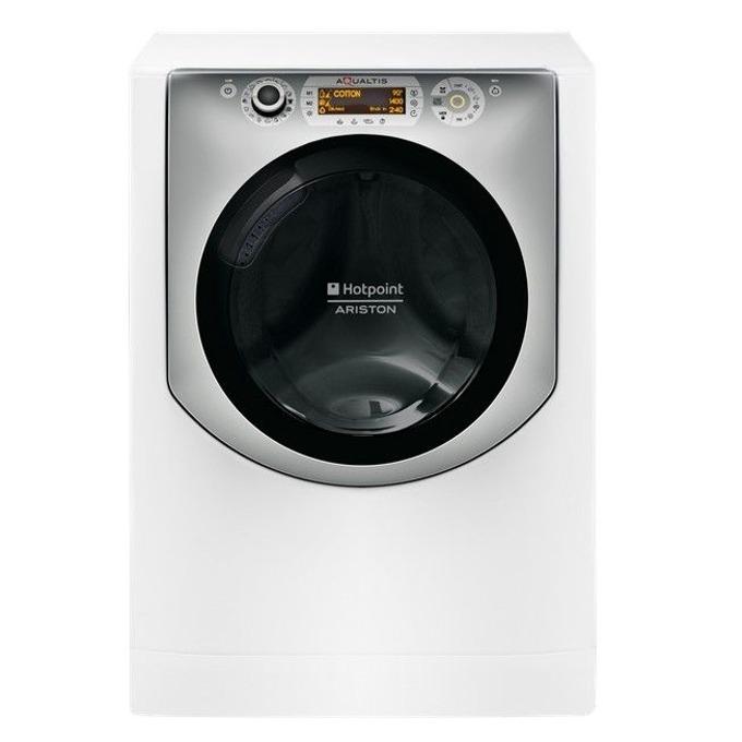 Пералня със сушилня Hotpoint-Ariston AQD1070D 49EU/B, клас A, 10 кг. капацитет пералня/7 кг. капацитет сушилня, 1400 оборота в минута, 60 cm. ширина, бяла image