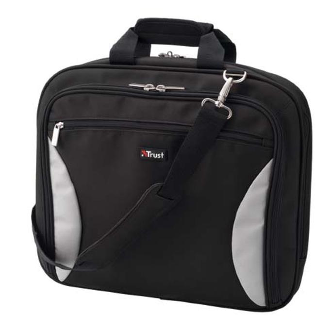 "Чанта за лаптоп Trust 15075 BG-3600P, 15.4""(39.12cm), черна image"