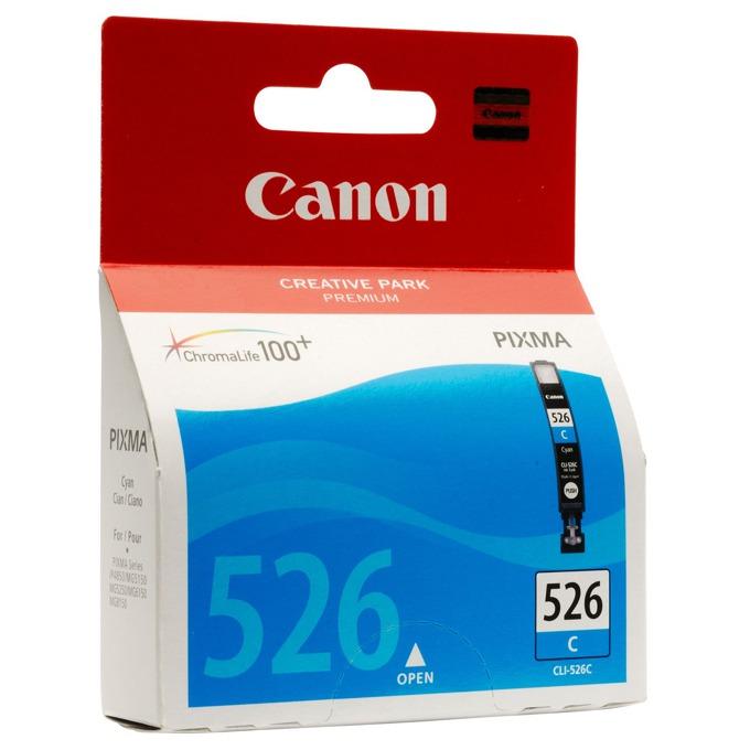 ГЛАВА CANON PIXMA iP 4850/MG5150/5250/6150/8150 - Cyan ink tank - P№ 4541B001 /CLI-526C - заб.: 9ml. image
