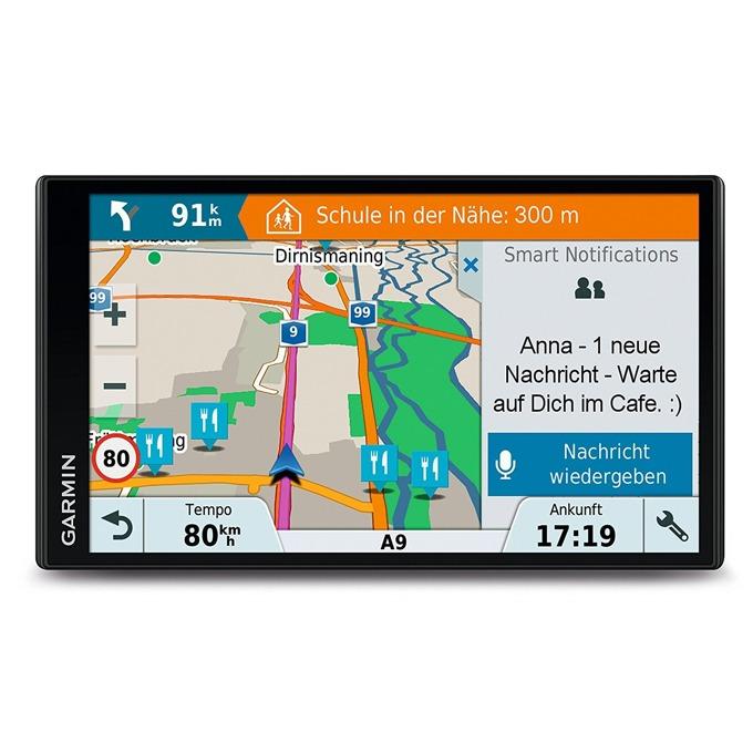 """Навигация за автомобил Garmin DriveSmart 61 LMT-S, 6.95"""" (17.7 cm) WQVGA мултитъч дисплей, Bluetooth, Wi-Fi, microSD слот, карта на цяла Европа image"""