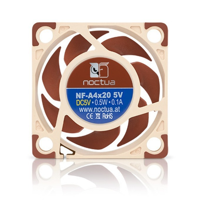 Вентилатор 40mm, Noctua NF-A4x20 5V, 3-pin, 5000 rpm  image