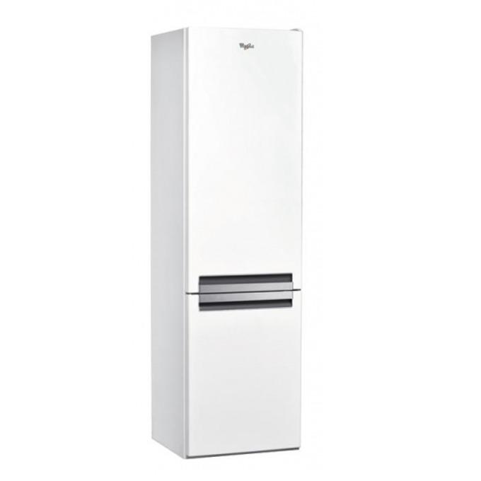 Хладилник с Фризер Whirlpool BLF9121W, клас А+, 369 л. общ обем, свободностоящ, 327 kWh/годишно LED дисплей, 6-о чувство, електроннo управление, бял image