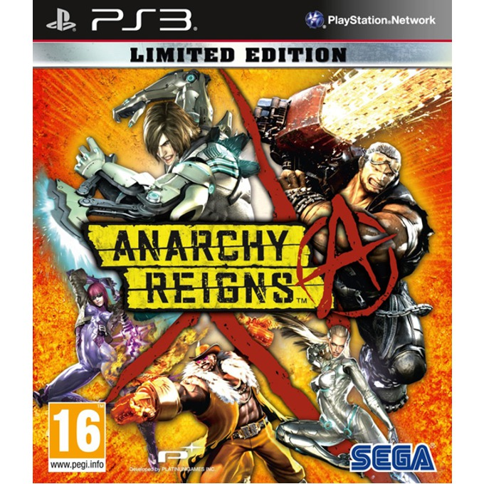 Игра за конзола Anarchy Reigns Limited Edition, за PlayStation 3 image