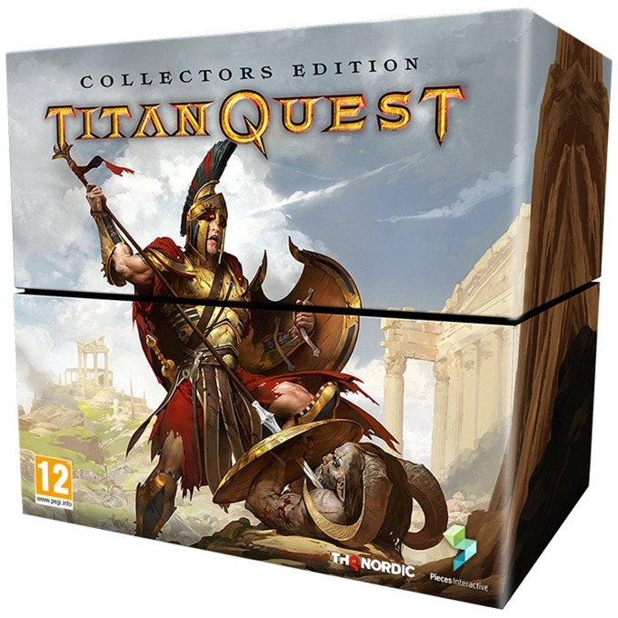 Игра за конзола Titan Quest Collectors Edition, за PS4 image