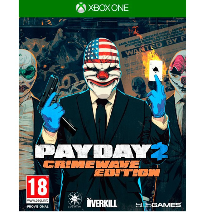 Payday 2 - Crimewave Edition, за Xbox One image