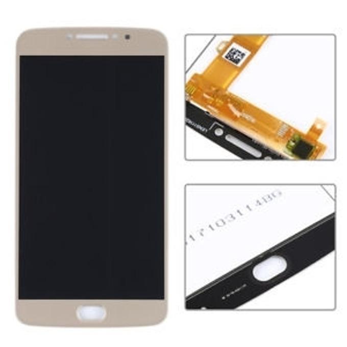 Дисплей за Motorola Moto E4 Plus, LCD original, с тъч, златист image
