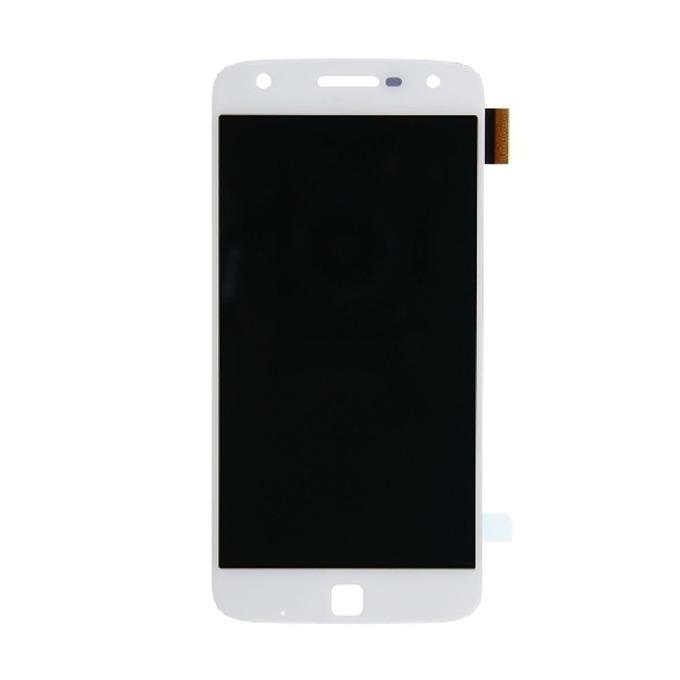 Дисплей за Motorola MOTO Z Play, LCD Original, с тъч, бял image