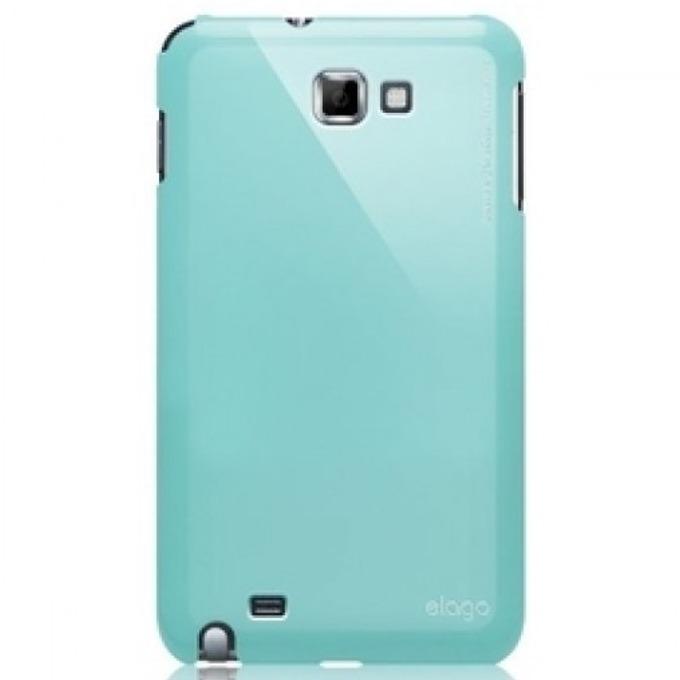 Поликарбонатов протектор Elago G4 Slim Fit Case за Samsung Galaxy Note, син, HD покритие image