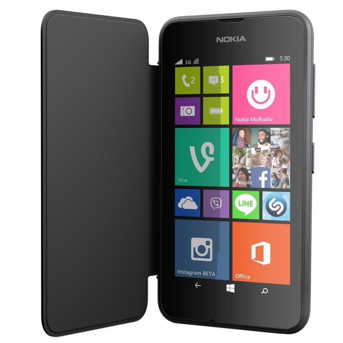 CC-3087Flip Cover за Nokia Lumia 530, сив image