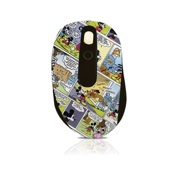 Мишка Circuit Planet Mickey DSY-MW2130, оптична (800 dpi), до 10м обхват, USB, щампа image