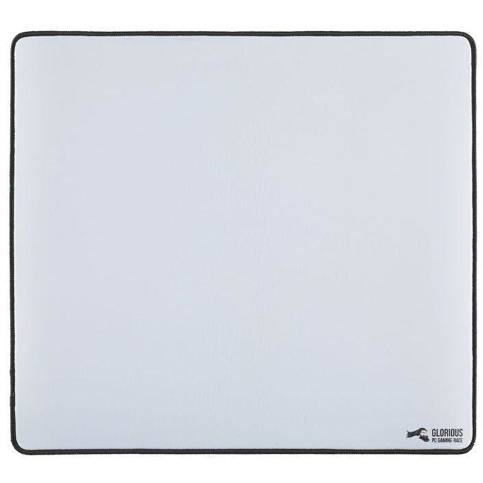 Подложка за мишка Glorious XL, гейминг, бял, 460 x 410 x 2 mm image