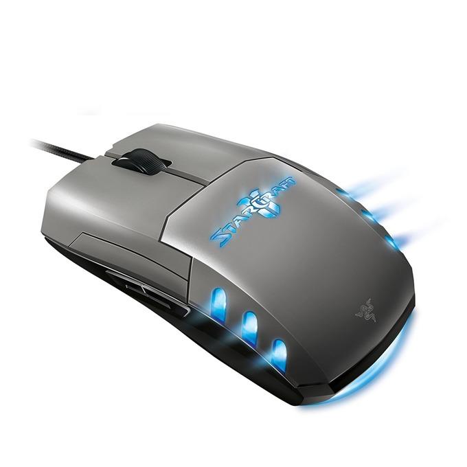 Мишка Razer Spectre Starcraft II, лазерна (5600 dpi), USB, сива, RGB image