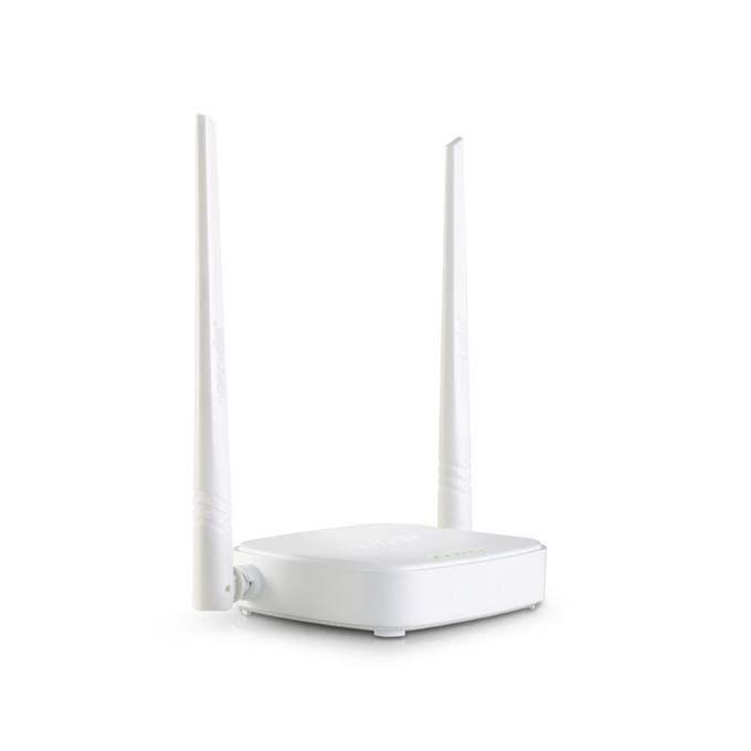 Рутер Tenda N301, 300Mbps, 2.4GHz(300 Mbps), Wireless N, 3x LAN 100, 1x WAN 100, 2x външни антени image