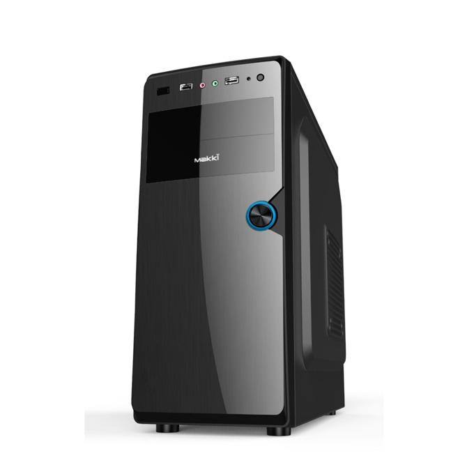 """Настолен компютър PC """"Business Plus"""", четириядрен AMD Ryzen 5 1500X 3.5/3.7GHz, 8GB DDR4, NVIDIA GeForce GT 710, 1GB (HDMI), 1TB 7200rpm, Free Dos, 9kg image"""