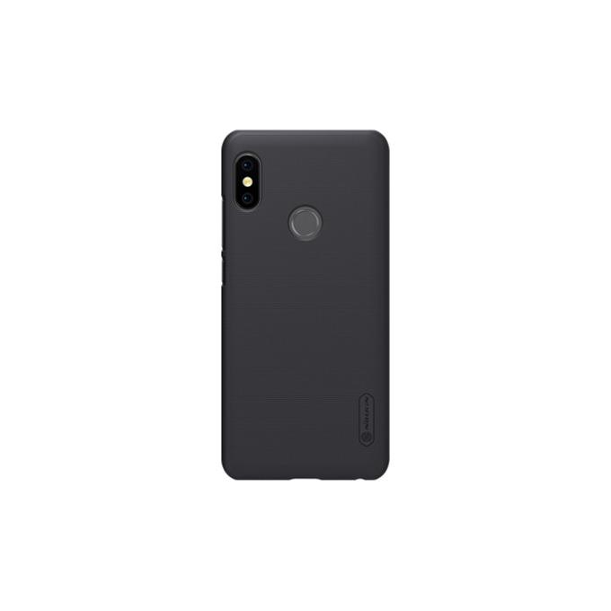 Калъф за Xiaomi Redmi Note 5, страничен протектор с гръб, пластмаса, Nillkin Redmi Note 5, удароустойчив, черен image