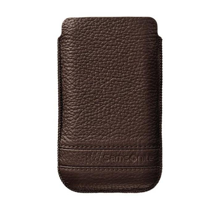 Калъф тип джоб Samsonite SLIM CLASSIC M, кожен, кафяв image