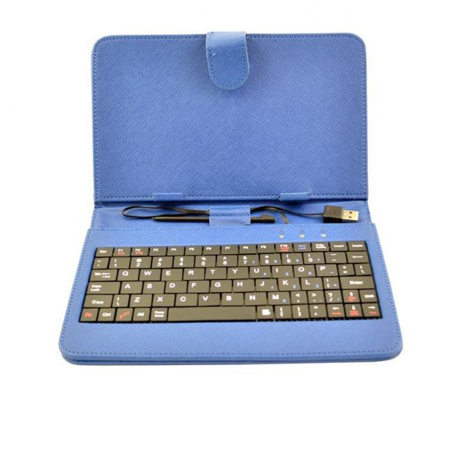 "Калъф Privileg MID 7 за таблет до 7"" (24.6 cm), ""бележник"", кожа, USB, син image"