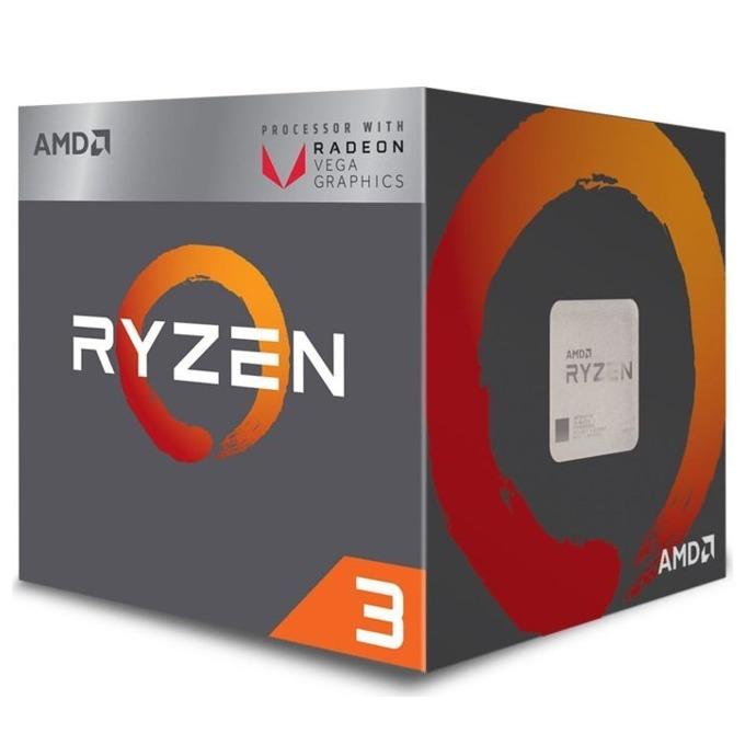Процесор AMD Ryzen 3 2200G, четириядрен (3.5/3.7GHz, 4MB, 1100 MHz GPU, AM4) BOX, с охлаждане Wraith Stealth image