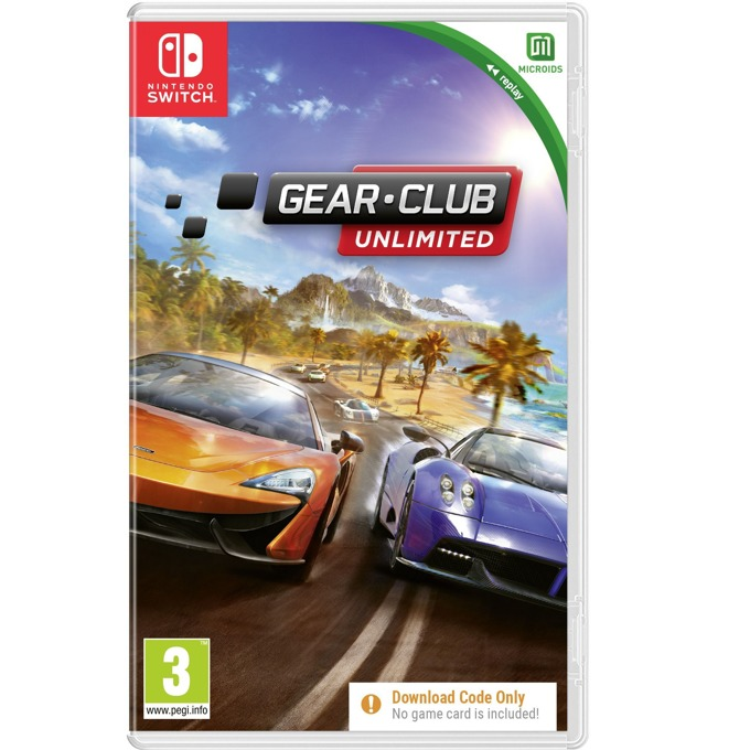 Gear Club - Code in a Box Nintendo Switch product