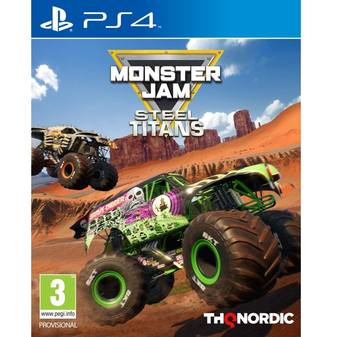 Игра за конзола Monster Jam Steel Titans, за PS4 image