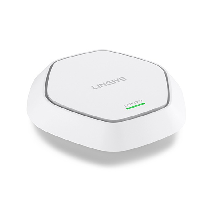 Access point/Аксес пойнт, Linksys LAPN300, 2.4GHz (300Mbps), with PoE, 1 x 10/100/1000 Ethernet Port image