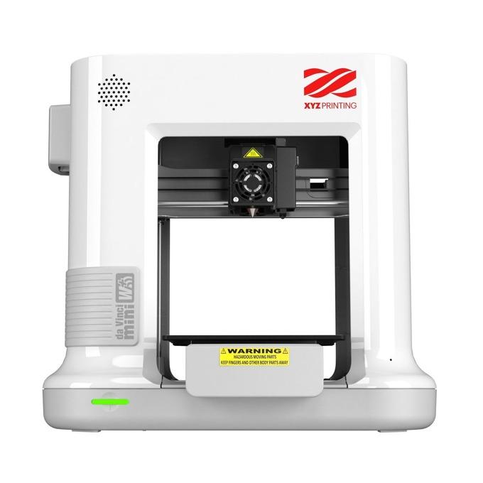 3D принтер XYZ Printing da Vinci mini w+ 3FM3WXEU00C, FFF метод на печат, Wi-Fi, USB 2.0, бял image