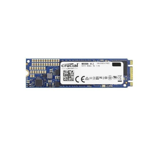 Памет SSD 500GB Crucial MX500, SATA 6Gb/s, M.2(2280), скорост на четене 560MB/s, скорост на запис 510MB/s image