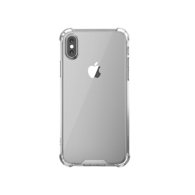 Калъф за Apple iPhone XS Max, термополиуретанов, Remax Milton, прозрачен image
