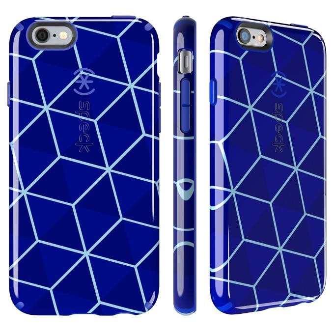 Страничен протектор с гръб Speck за iPhone 6S, син image
