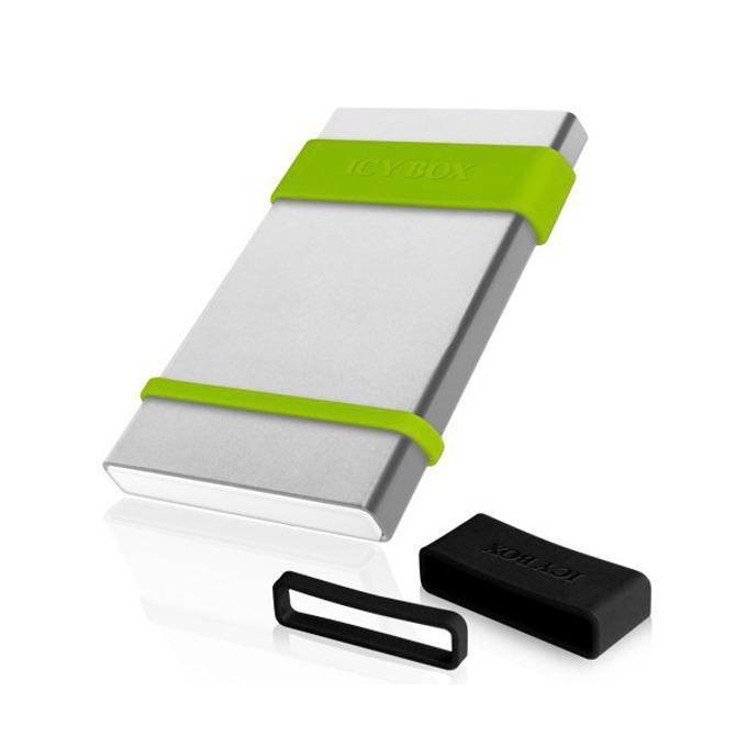 """Кутия 2.5""""(6.35 cm), Raidsonic IB-252StU3, за 2.5"""" SATA HDD, USB 3.0, бяла image"""