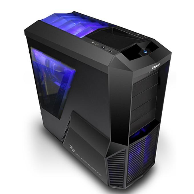 Кутия Zalman Z11 PLUS, ATX Mid Tower, 2x USB3.0, черна, без захранване image