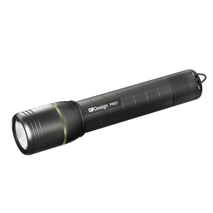 Фенер GP Design Beam PR57, 1x Li-Ion батерия, 1000 lumens, ръчен, черен image