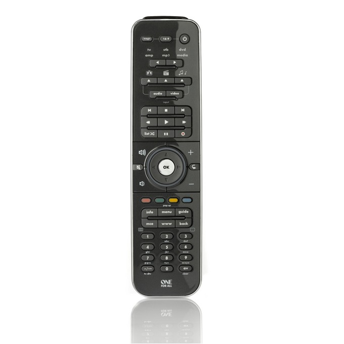 Дистанционно One For All URC 7962, универсално, контролира до 6 устройства, IR обхват 15 метра, брой бутони 52, 4 х AAA, 120g image