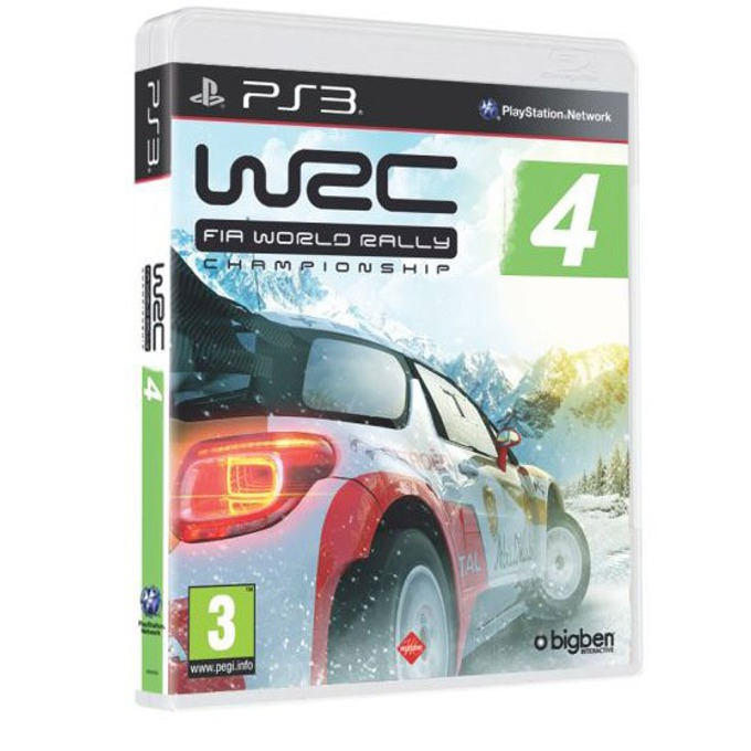 Игра за конзола WRC 4: FIA World Rally Championship, за PS3 image