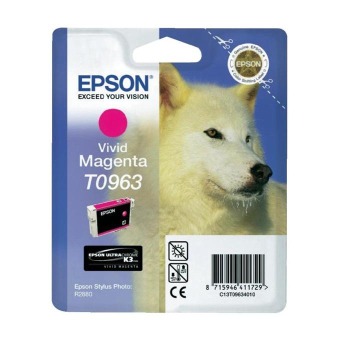 ГЛАВА ЗА EPSON Stylus Photo R2880 - Magenta - T0963 - P№ C13T09634010 - 11.4ml image