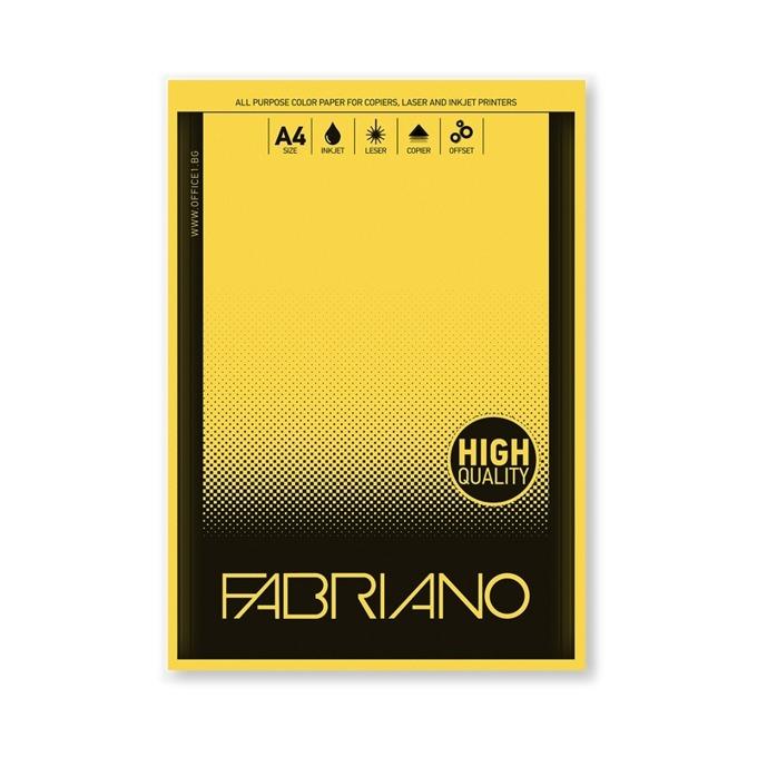 Fabriano Copy Tinta, A4, 80 g/m2, жълта, 50 листа product