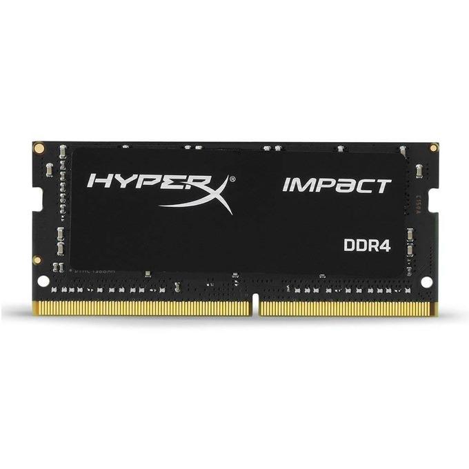 Памет 8GB DDR4 2400MHz, SO-DIMM, HyperX Impact, 1.2V image