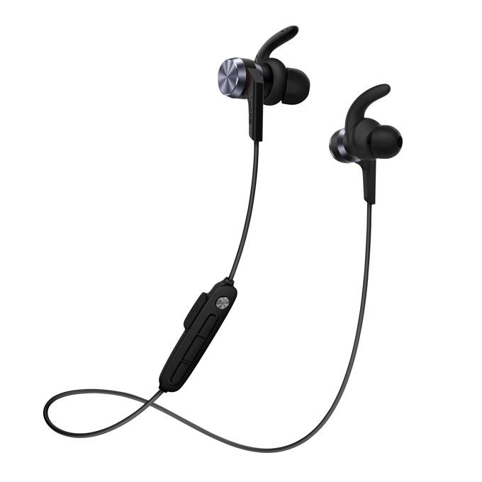 Слушалки 1MORE iBFree Sport, безжични(Bluetooth 4.2), контрол на звука, 8 часа време за работа, IPX6 защита, черни image