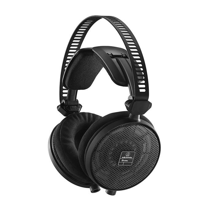 Слушалки Audio-Technica ATH-R70x, професионални, 45мм говорители, 5-40kHz, 99 dB, сваляем кабел, черни image