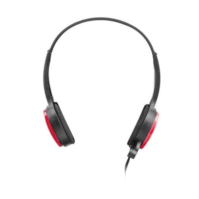 Слушалки uGo USL-1222, микрофон, червени image