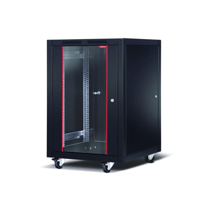 """Комуникационен шкаф Formrack SLV-20U6060/BTA-20U6060, 19"""", 20U, 600 x 600 mm, черен image"""